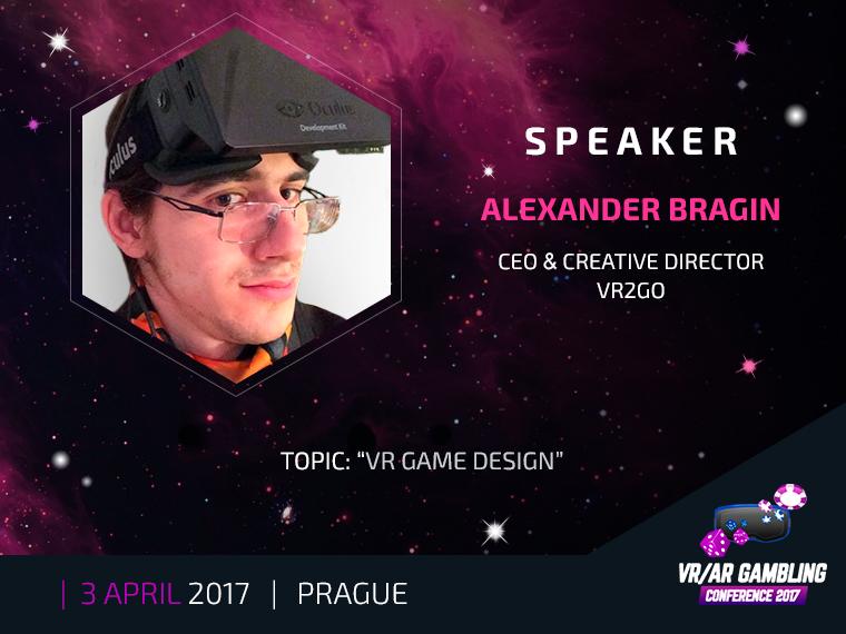 Alexander Bragin to tell about VR game content development