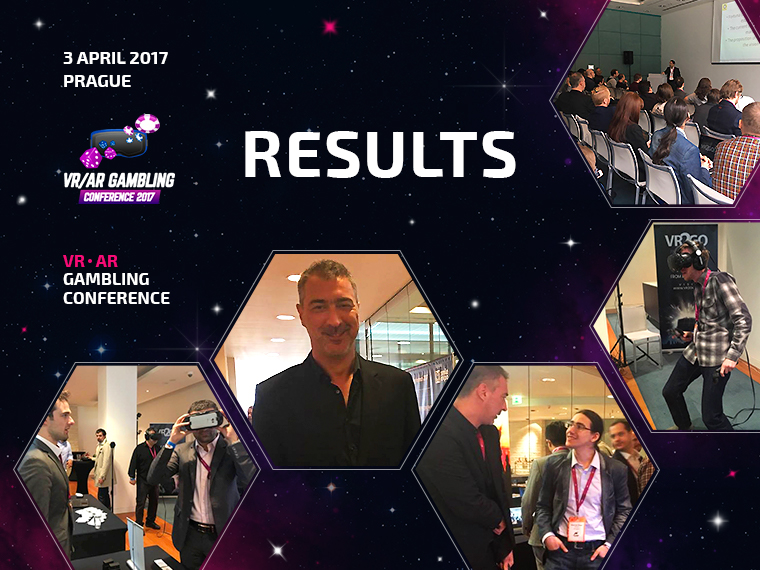 The first specialized VR|AR GAMBLING Conference has been a success!