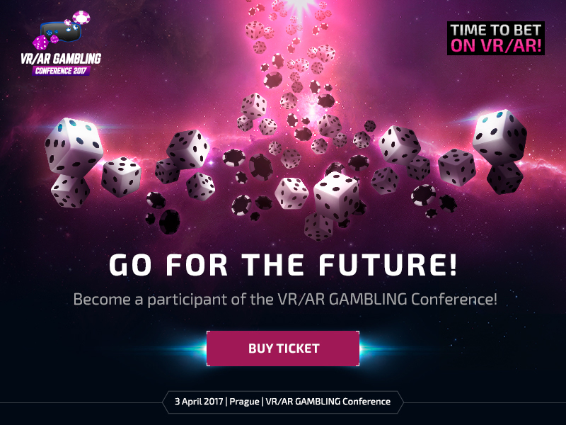 Sales of online-tickets for VR/AR Gambling Conference has started