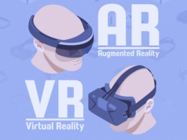 Analysts forecast a tenfold increase in the sale of AR and VR headsets