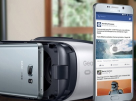 Facebook launched an application for browsing photo and video in Gear VR goggles