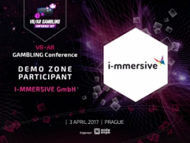 I-mmersive: best VR solutions in demo zone of VR/AR Gambling Conference 2017