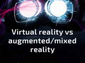 Infographic: virtual reality vs augmented/mixed reality