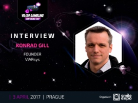 Interview: Konrad Gill, ViARsys founder, Talks about Virtual Reality in gambling