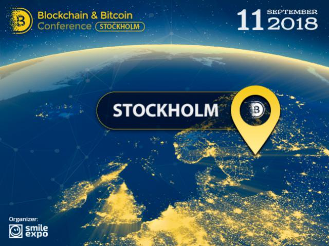 Autumn in Sweden: the second Blockchain & Bitcoin Conference Stockholm to be held in September