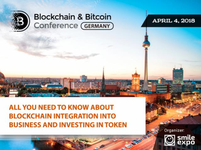 Blockchain & Bitcoin Conference Germany: blockchain potential and crypto industry trends discussed in Berlin