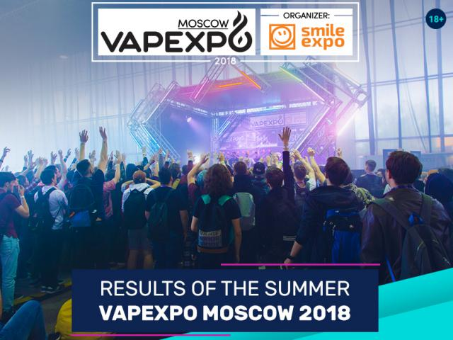 Business communication, comfortable atmosphere and new contests. Results of the seventh VAPEXPO Moscow