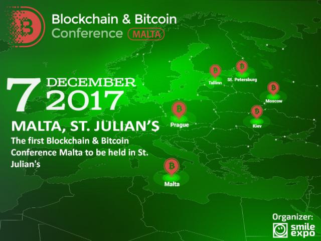 Cryptocurrency in gambling and blockchain serving the government: Malta will host Blockchain & Bitcoin Conference