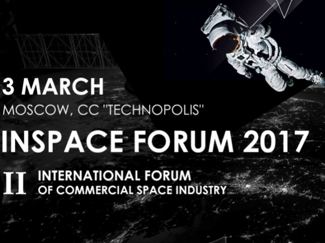 INSPACE FORUM brings key space market players together again. INSPACE FORUM 2017 starts in a month
