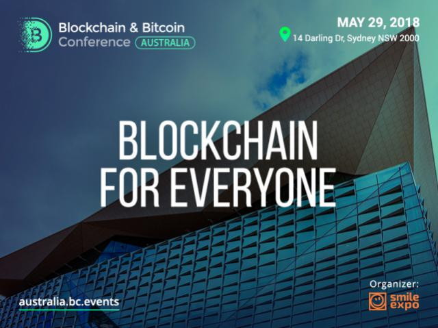 Sydney's first event: organizing Blockchain & Bitcoin Conference Australia