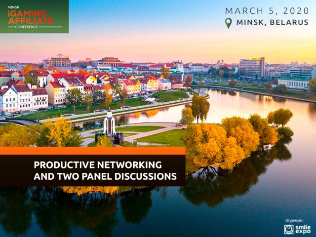 Productive Networking and Two Panel Discussions: What Waits for Attendees of Minsk iGaming Affiliate Conference 2020?