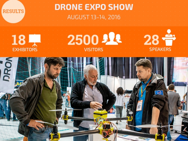 Results of the First Russian Exhibition of quadrocopter and drones