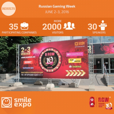 Russian Gaming Week 2016: how did jubilee exhibition go in Moscow?