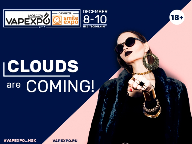 The sixth epic VAPEXPO Moscow exhibition will take place in Russian capital