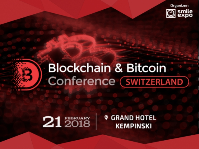 Blockchain & Bitcoin Conference Switzerland will mainly cover ICO, global economy and cryptocurrency regulation