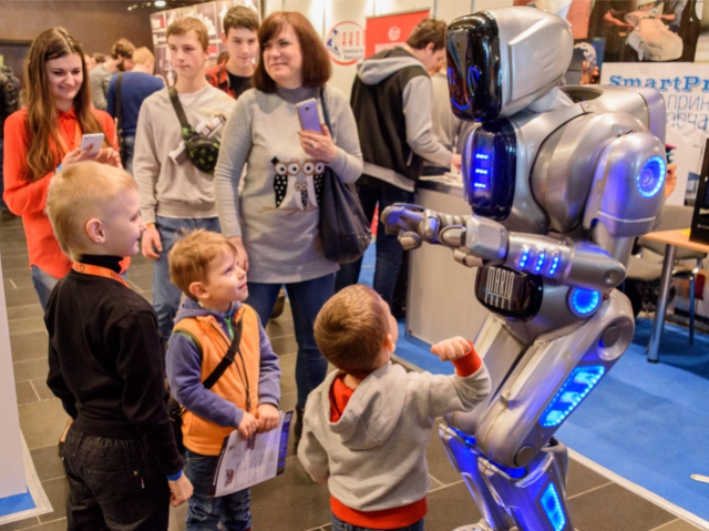 Robotics Expo 2016: the one place in Moscow you can enjoy watching robots