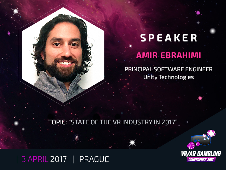 VR|AR Conference 2017: Principal Software Engineer at Unity Technologies became a keynote speaker